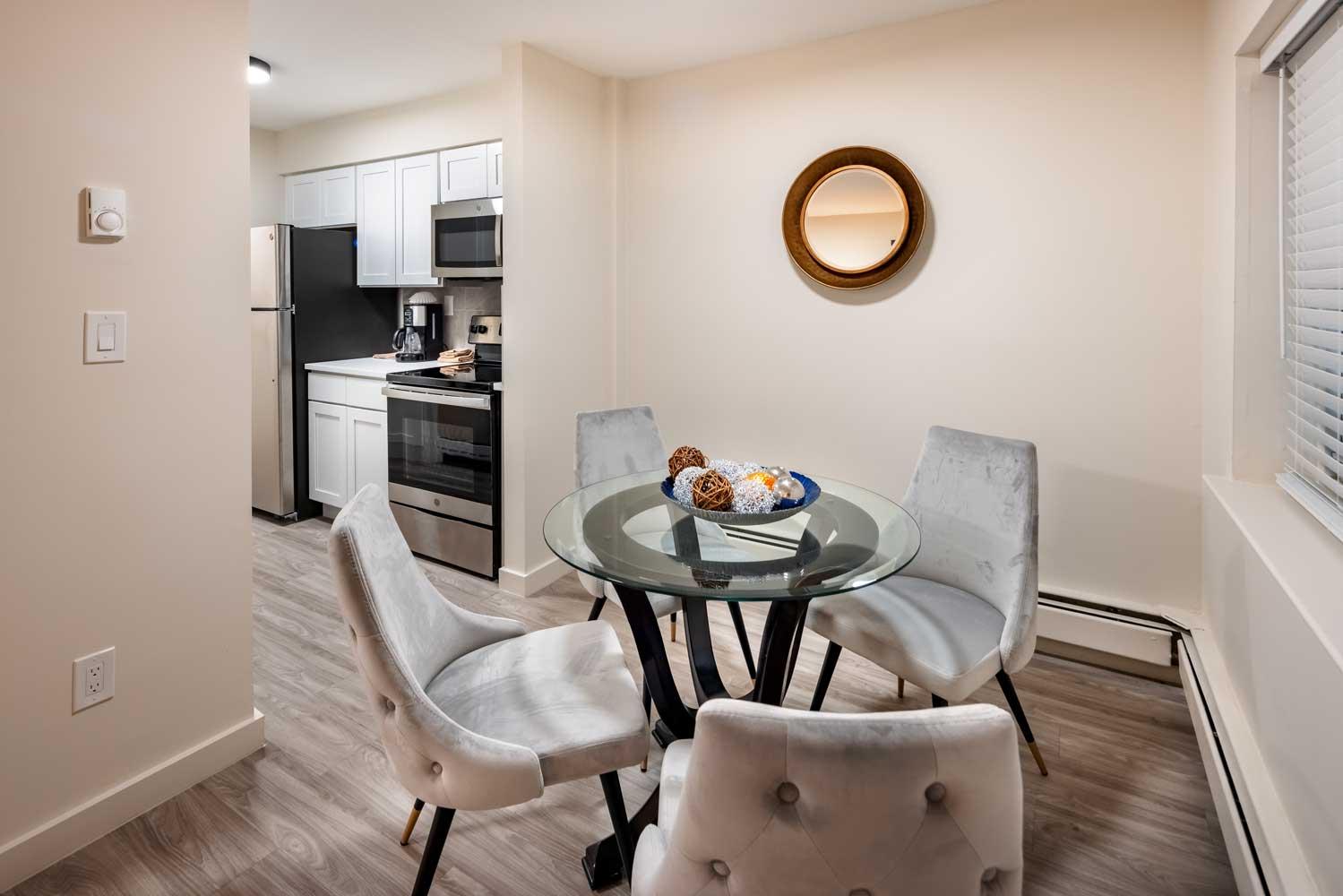 Dining Area at River Edge at Nyack Apartments in Nyack, NY