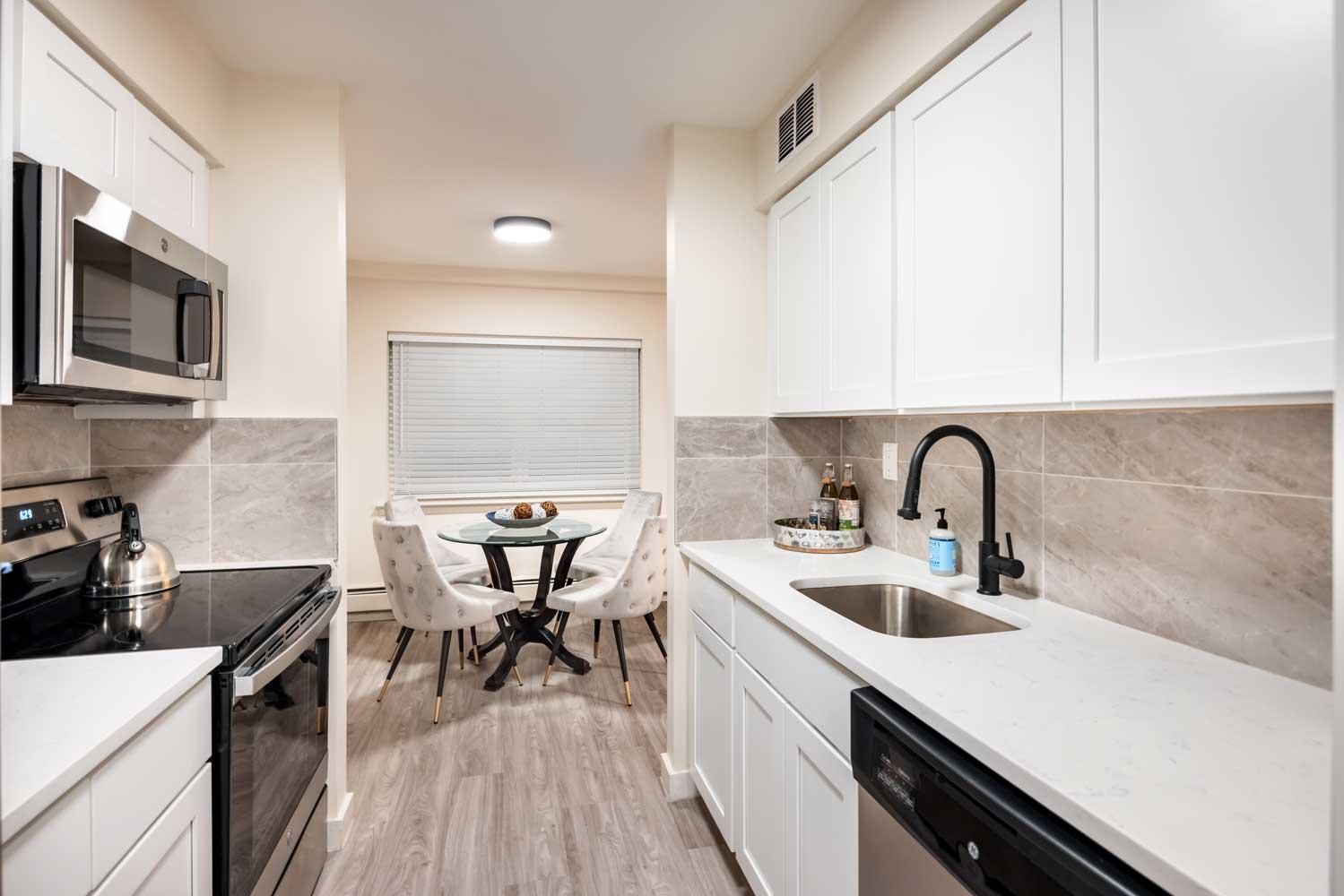Kitchen View at River Edge at Nyack Apartments in Nyack, NY