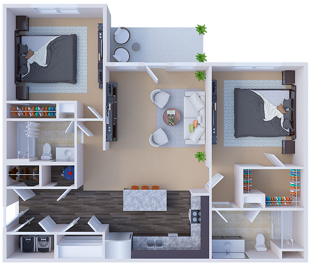 Floorplan - Chandler image