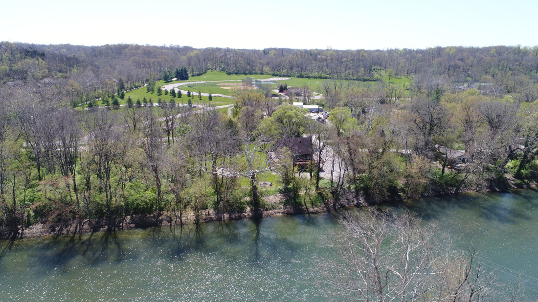 Lush, Natural Surroundings at River Ridge Apartments in Loveland, Ohio