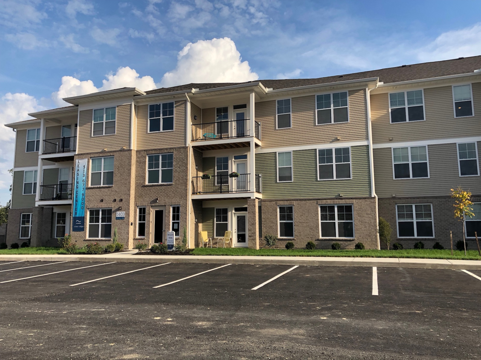 Loveland Apartment Rentals at River Ridge Apartments in Loveland, Ohio