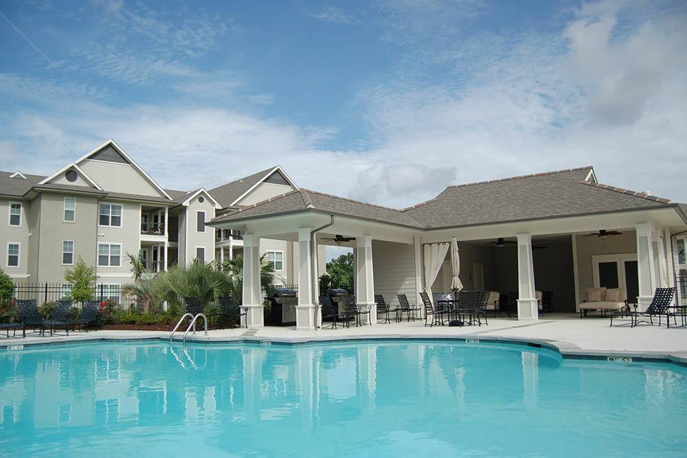 Resort-Style Pool at RiverScape Apartments in Shreveport, Louisiana