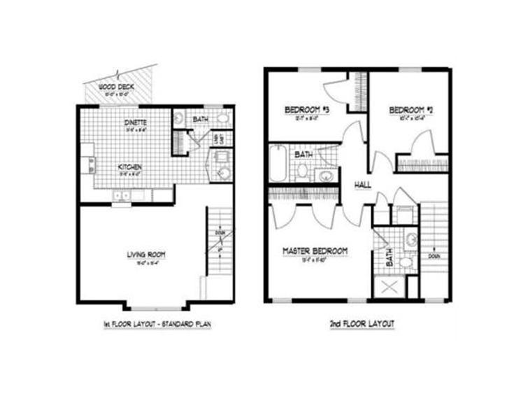 River Trail Apartments - Floorplan - Blue Suites