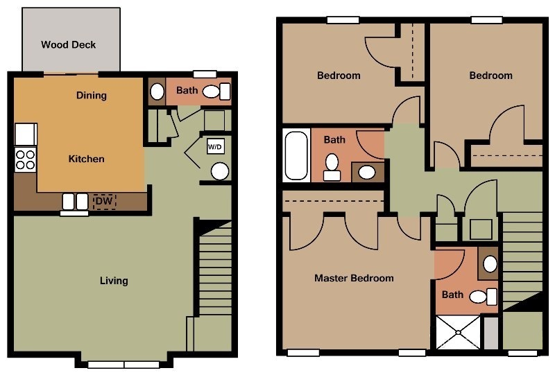 Floorplan - Blue Suites image