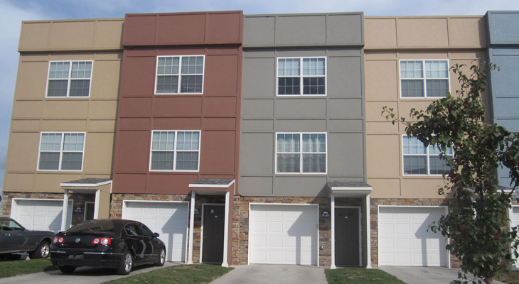 Exterior at River Trail Apartment Homes in Ogden, KS
