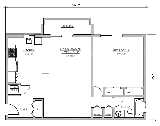 Riverview at Nyack - Floorplan - A1