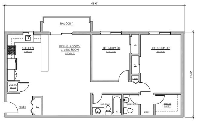 Riverview at Nyack - Floorplan - B1