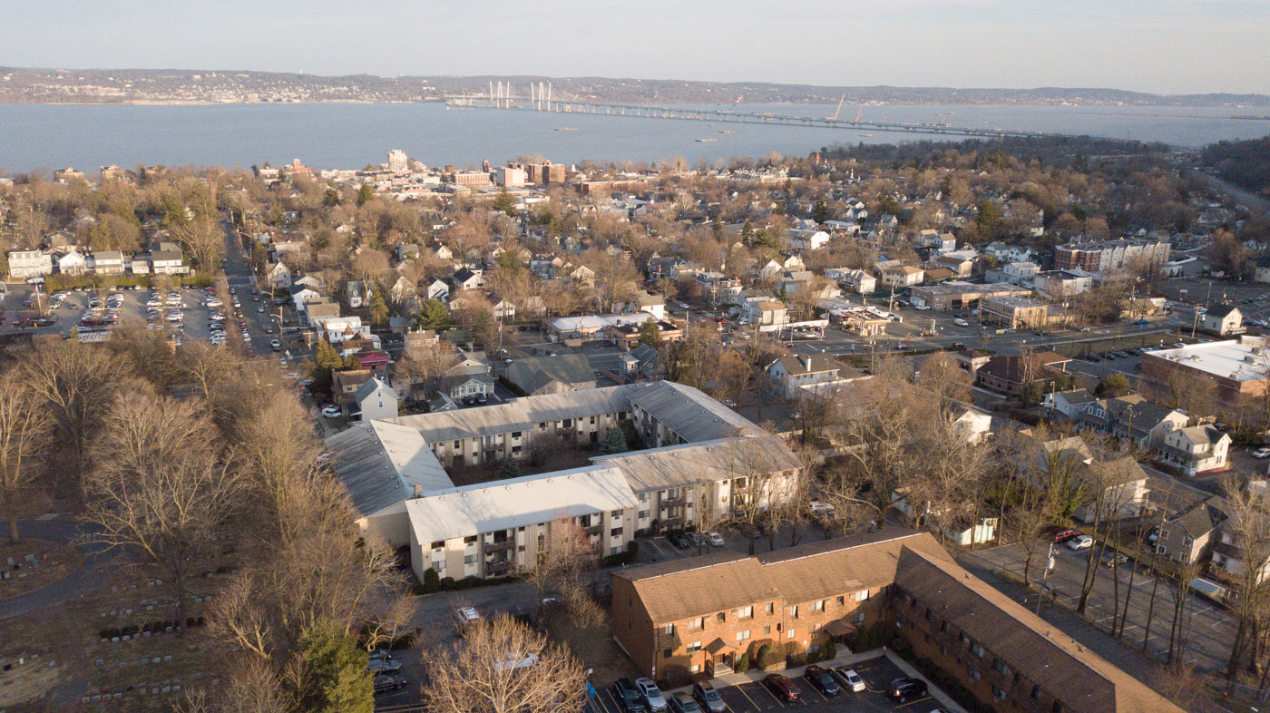 Aerial View of Riverview at Nyack Apartments in Nyack, New York