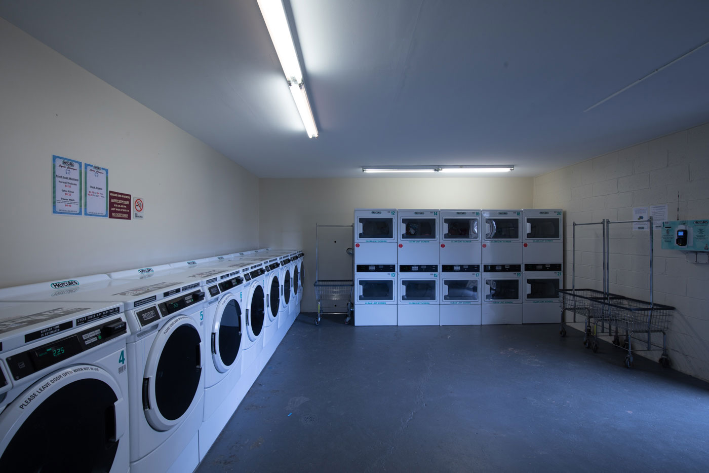 Laundry Area at Riverview at Nyack Apartments in Nyack, New York