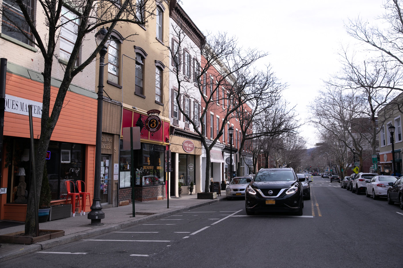 Downtown Shops and Restaurants at Riverview at Nyack Apartments in Nyack, New York