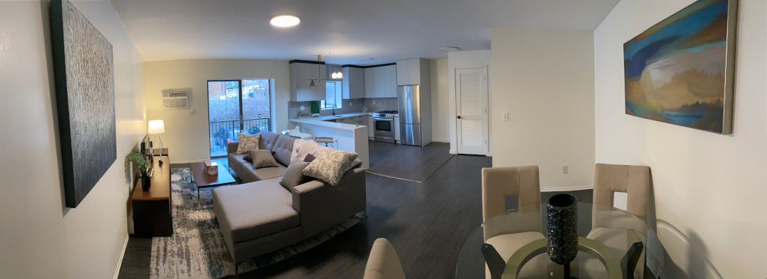 Large Living Room at Riverview at Nyack Apartments in Nyack, New York