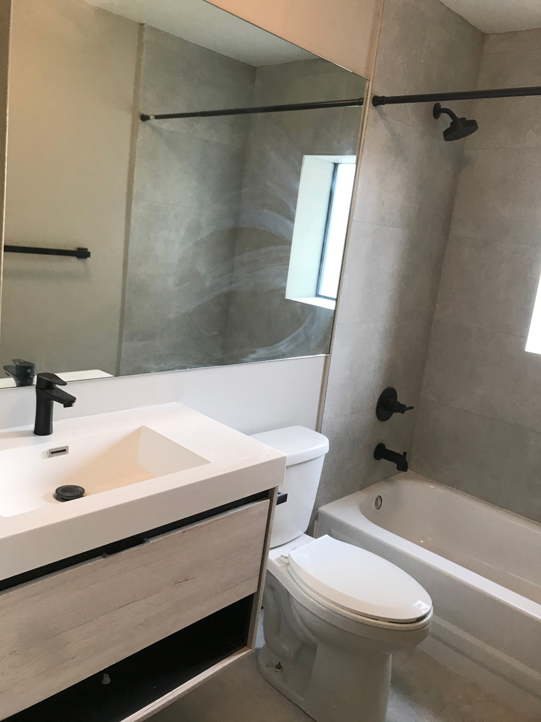 Stylish Bathroom Fixtures at Riverview at Nyack Apartments in Nyack, New York