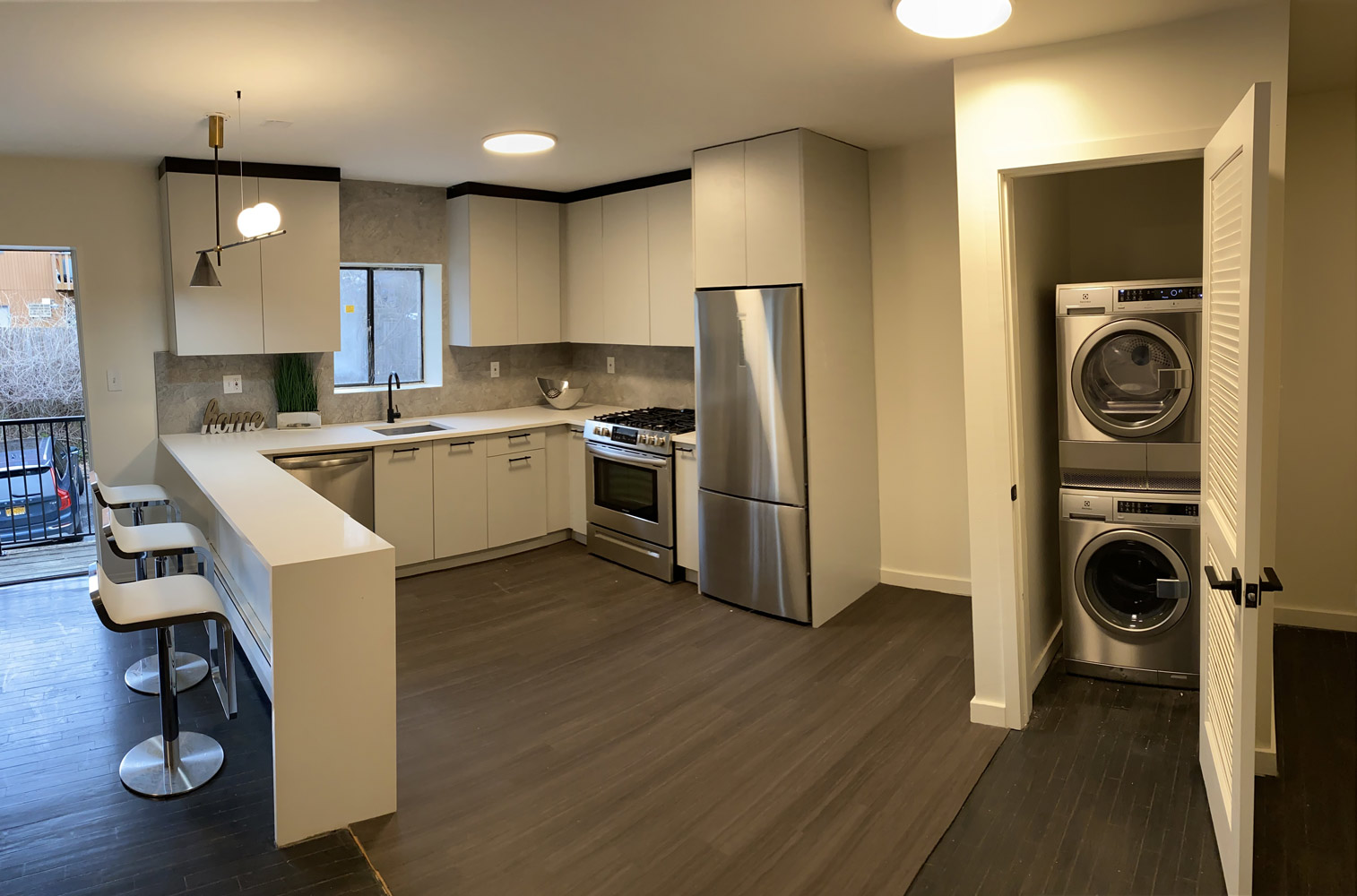 In-Home Washer and Dryer at Riverview at Nyack Apartments in Nyack, New York
