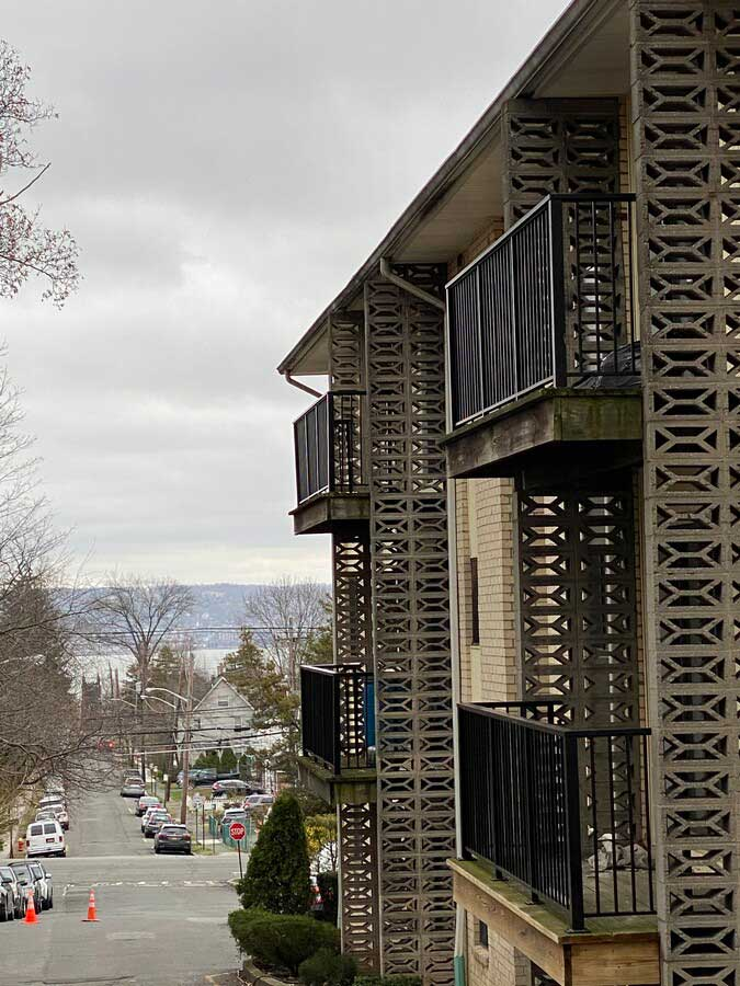 Exterior View at Nyack Apartments in Nyack, New York
