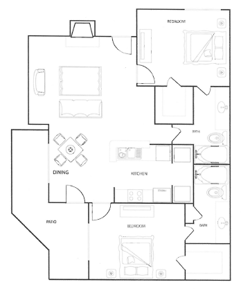 Floorplan - The Oak image