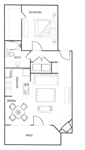 Floorplan - The Cedar image