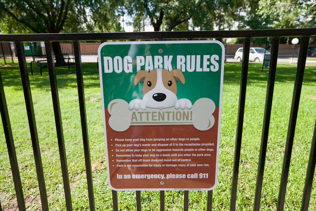 Dog Park at Riverwalk Apartments