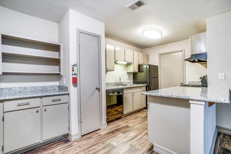 Kitchen Appliances at Riviera Apartments in Dallas, Texas