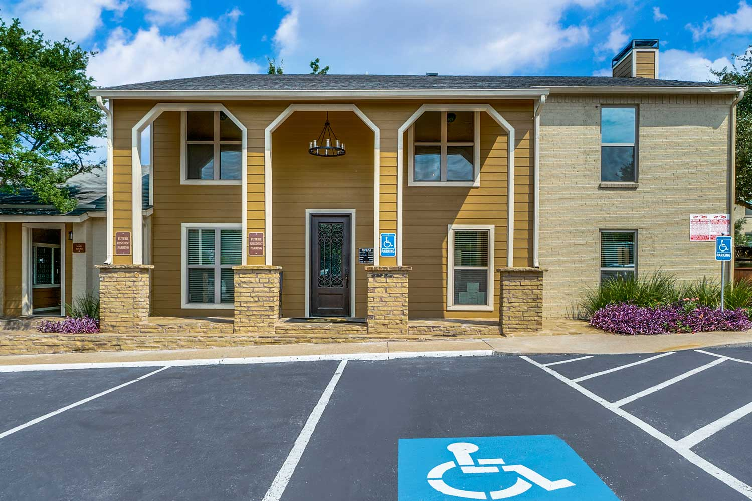 Parking Space at Riviera Apartments in Dallas, Texas
