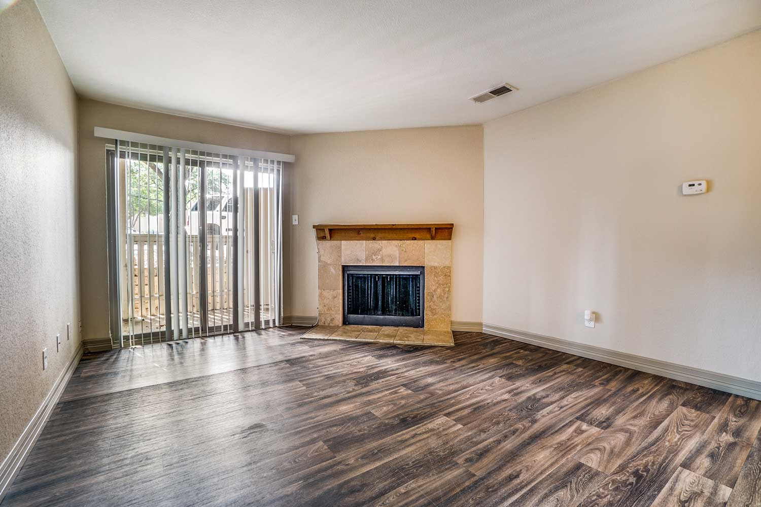 French Doors at Riviera Apartments in Dallas, Texas