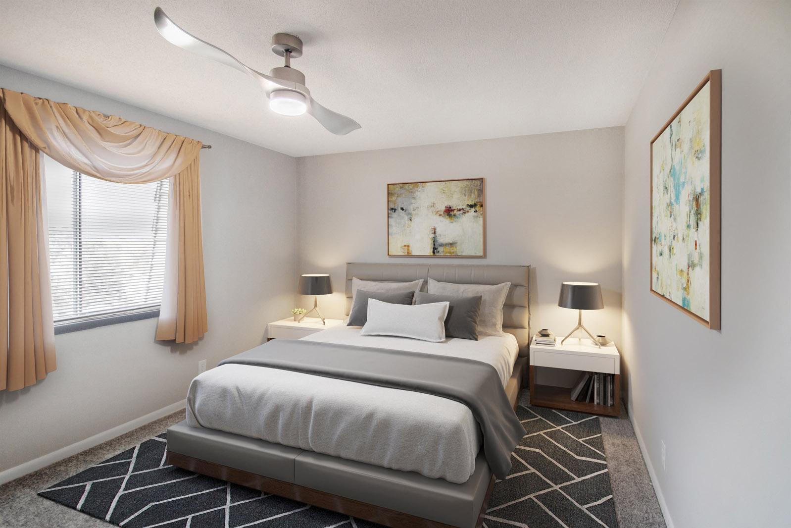 1 and 2 Bedroom Apartment Homes at Pinehill Park in Bellevue, Nebraska