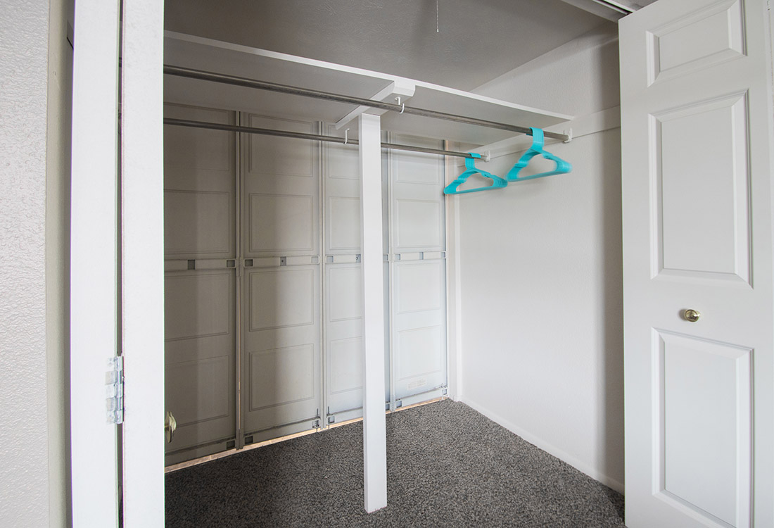 Large Walk-In Closets at Royalwood Apartments in West Omaha, Nebraska
