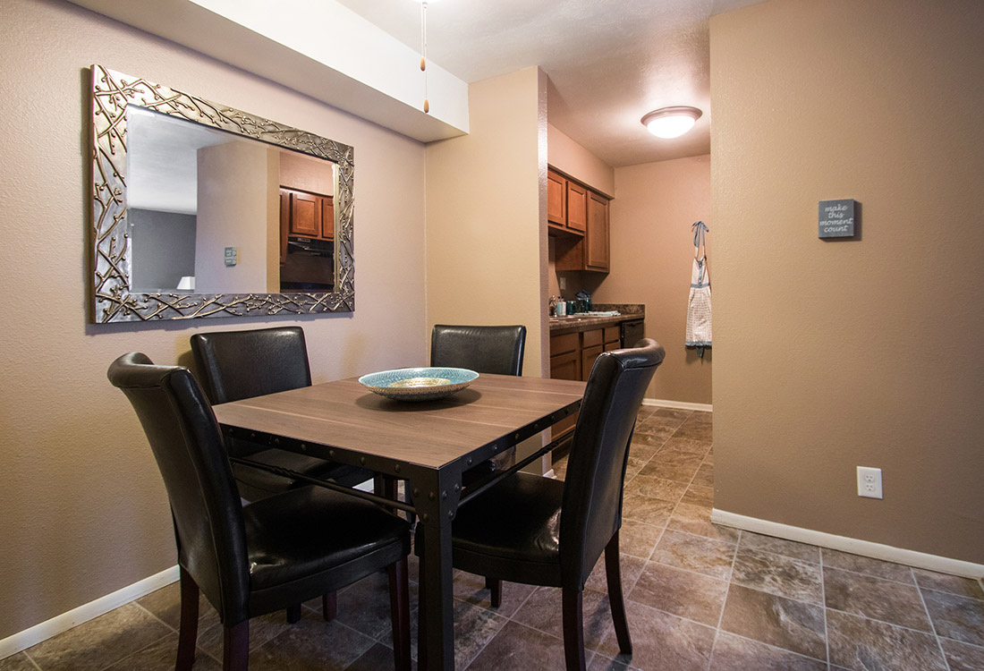 Seperate Dining Area at Royalwood Apartments in Omaha, Nebraska