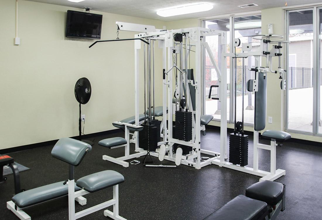 Brand New Fitness Center at Royalwood Apartments in Omaha, Nebraska