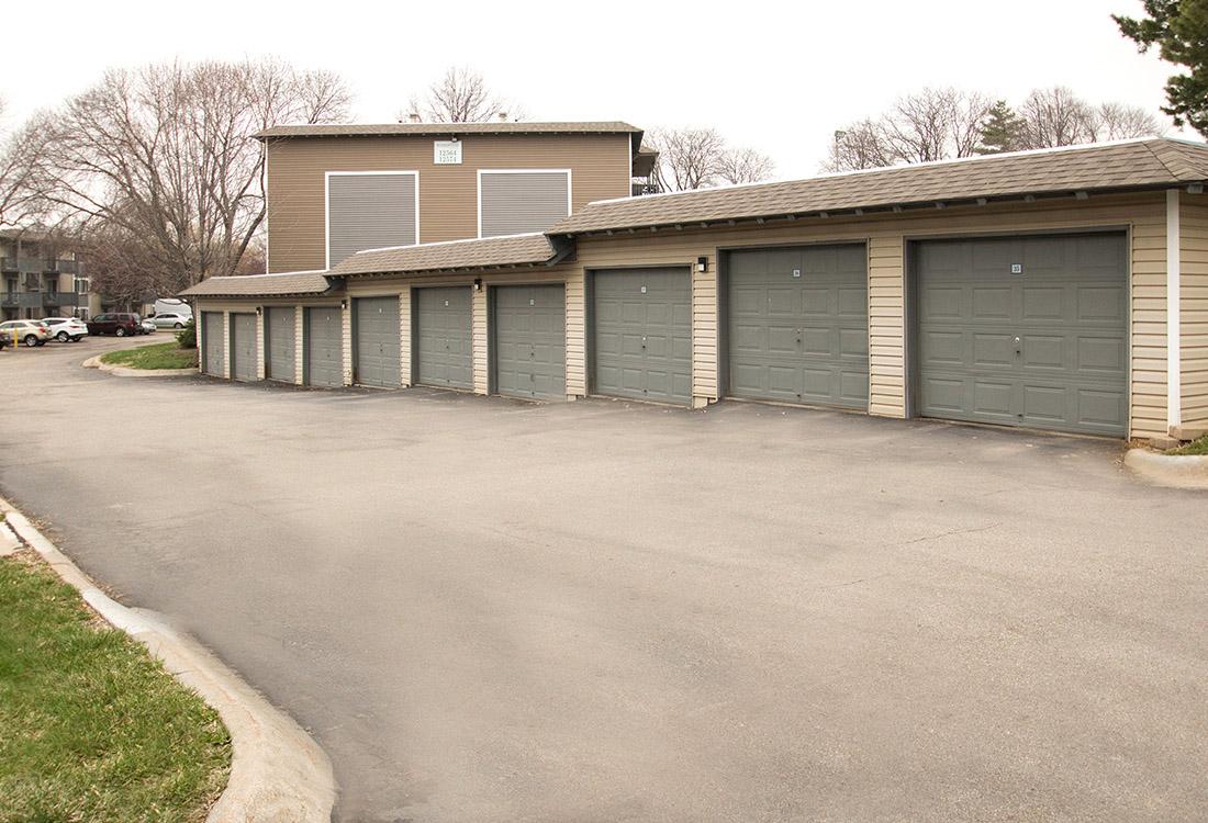 Parking Garages Available at Royalwood Apartments in Omaha, Nebraska
