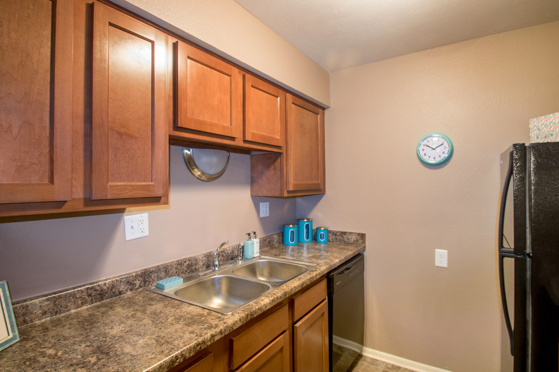 Black Appliances in Studio, One, & 2 Bedroom Apartments at Royalwood Apartments in West Omaha, NE