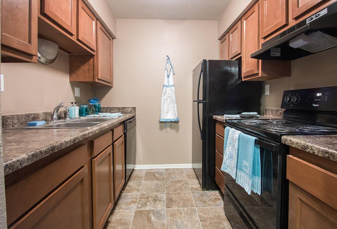 New Kitchen Appliances at Royalwood Apartments in Omaha, Nebraska
