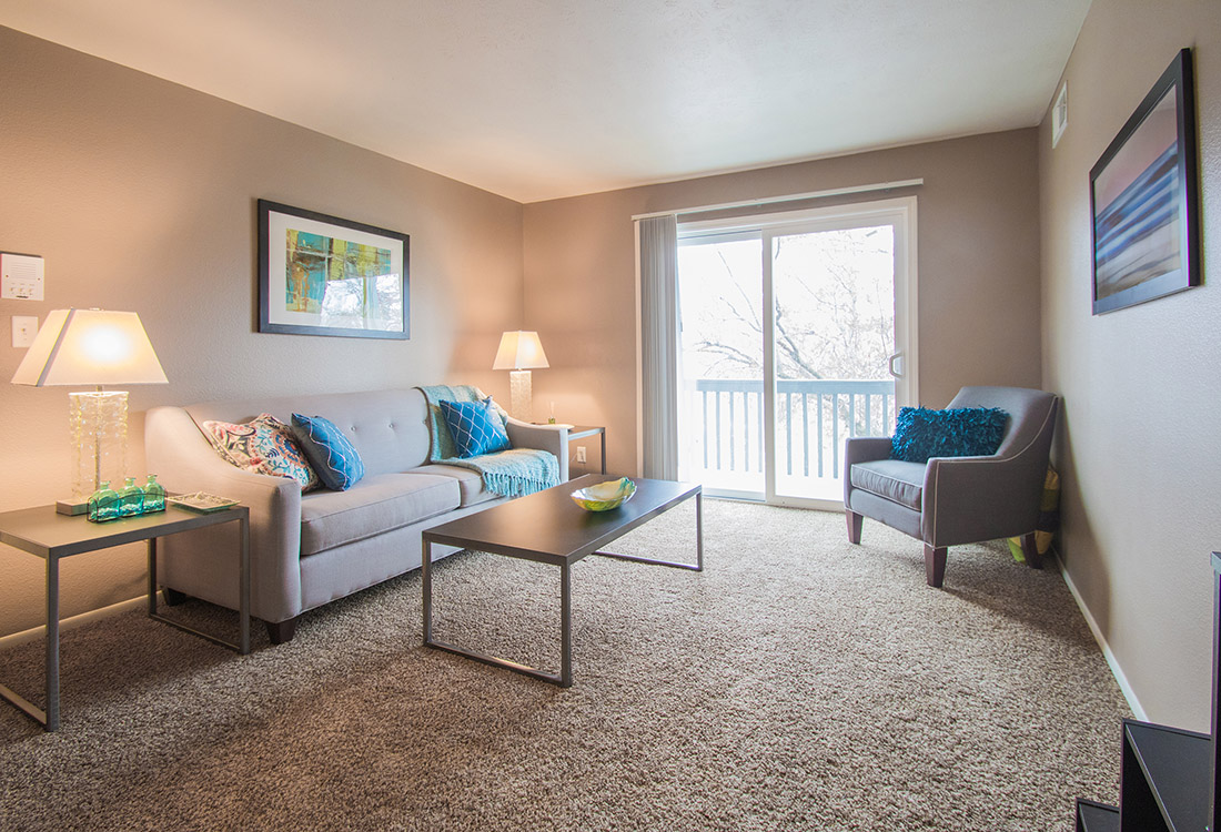 Open Living Space at Royalwood Apartments in Omaha, Nebraska