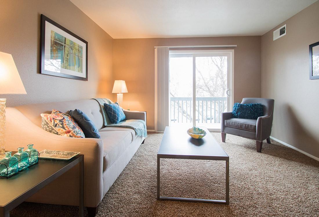 Plush Carpeting at Royalwood Apartments in Omaha, Nebraska
