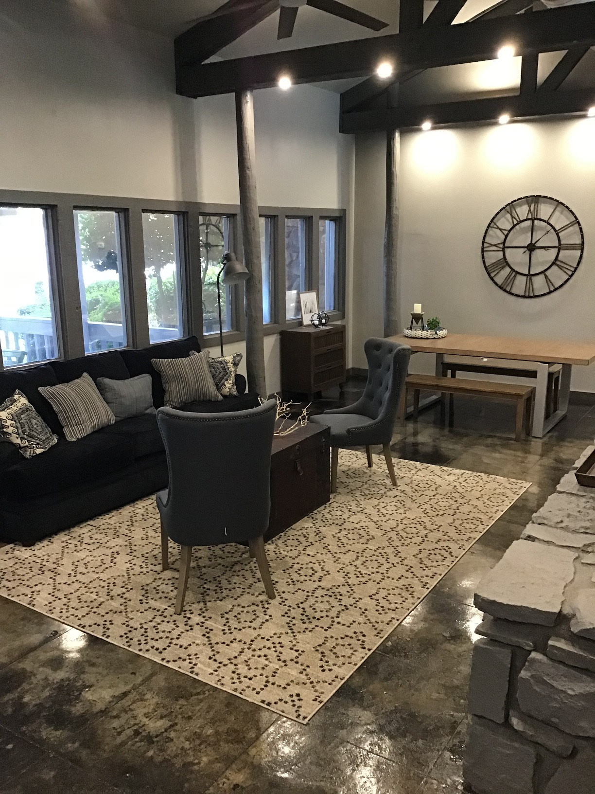 Property View at Rustic Woods Apartments in Tulsa, Oklahoma