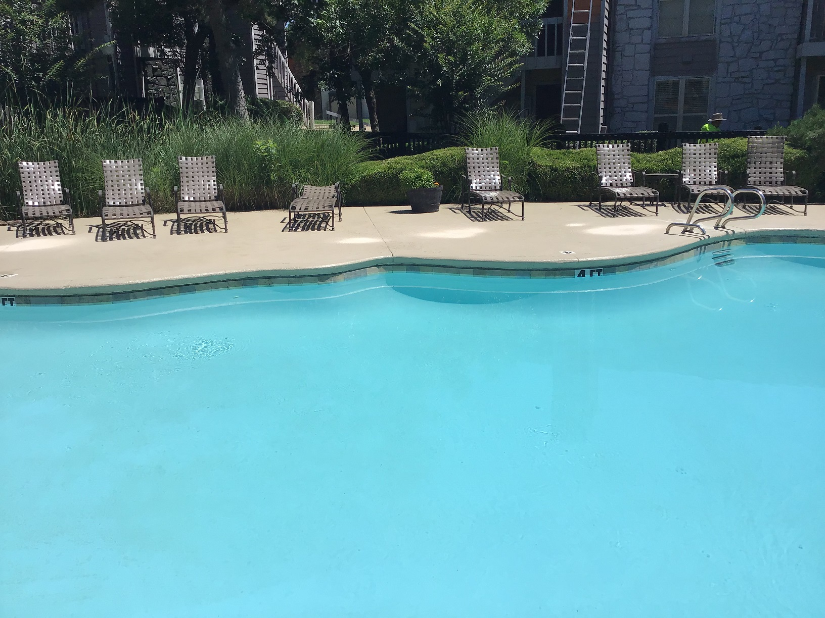 Large Pool at Rustic Woods Apartments in Tulsa, Oklahoma