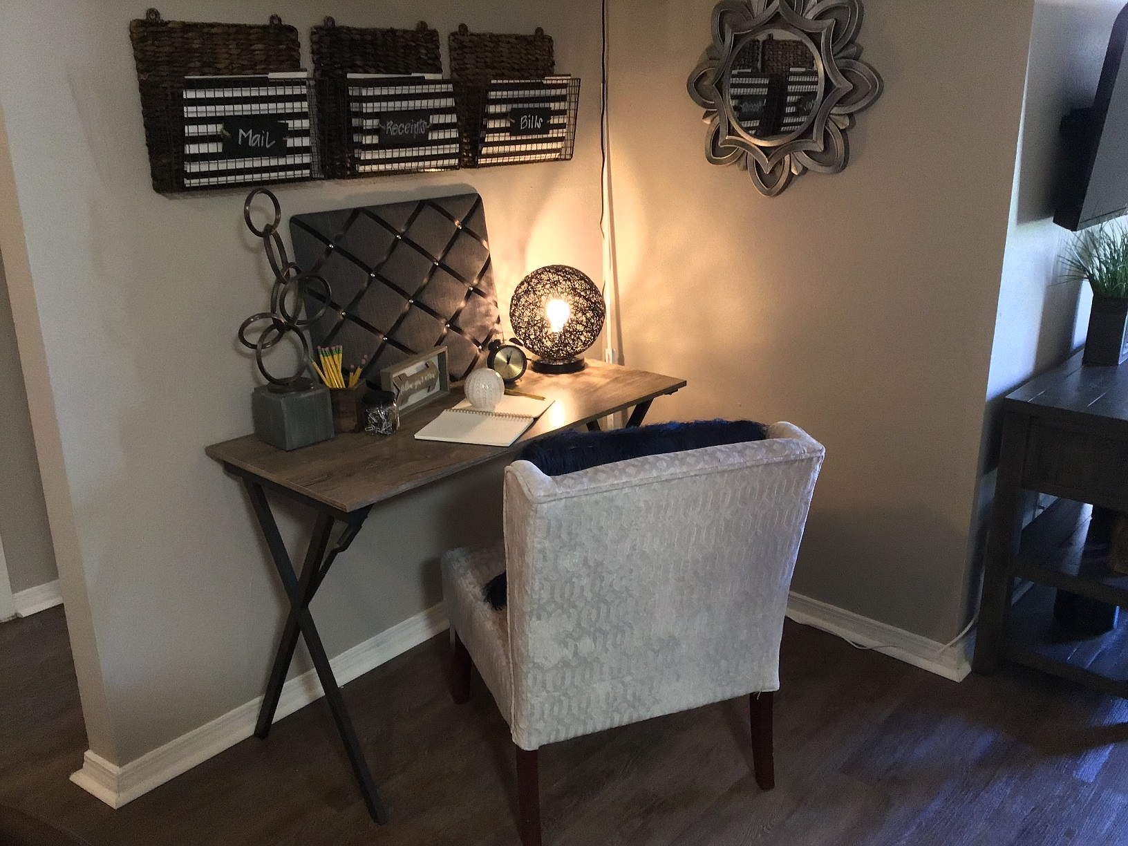 Side Table at Rustic Woods Apartments in Tulsa, Oklahoma