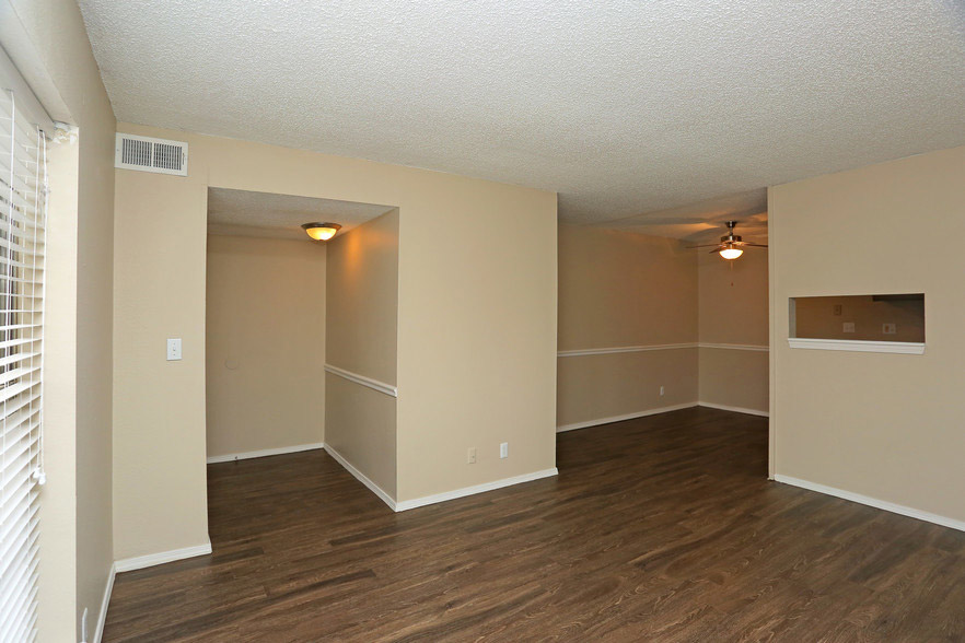 Wood Look Flooring at Rustic Woods Apartments in Tulsa, Oklahoma