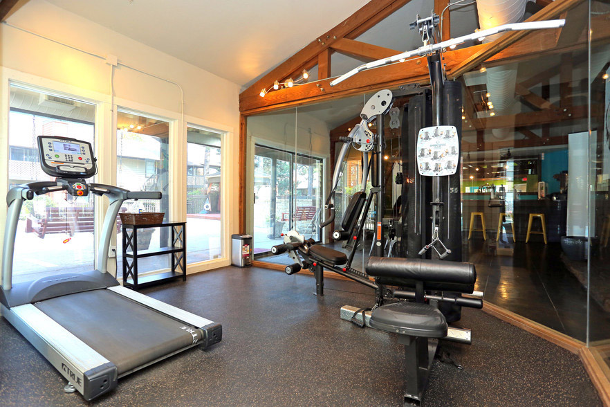 On-Site Gym at Rustic Woods Apartments in Tulsa, Oklahoma