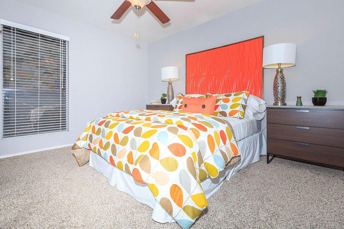 Bedroom at Salado Crossing Apartment Homes in San Antonio, TX
