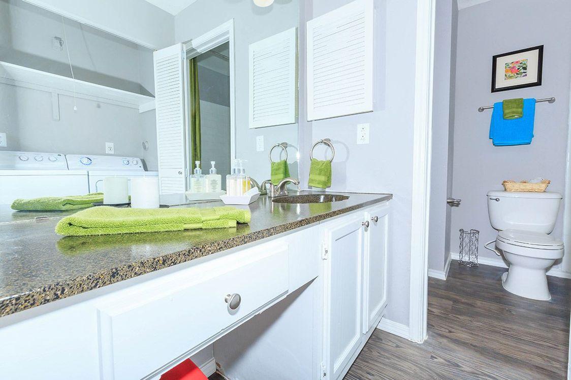 Bathroom at Salado Crossing Apartment Homes in San Antonio, TX