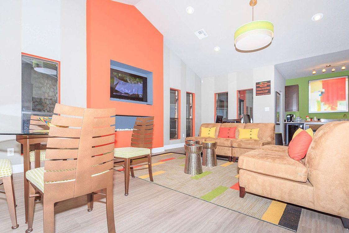 TV Lounge at Salado Crossing Apartment Homes in San Antonio, TX