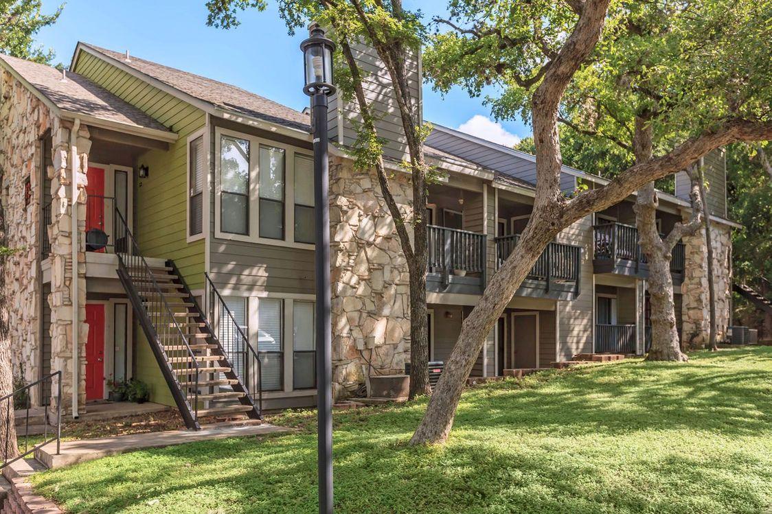 Controlled Access Gates at Salado Crossing Apartment Homes in San Antonio, TX