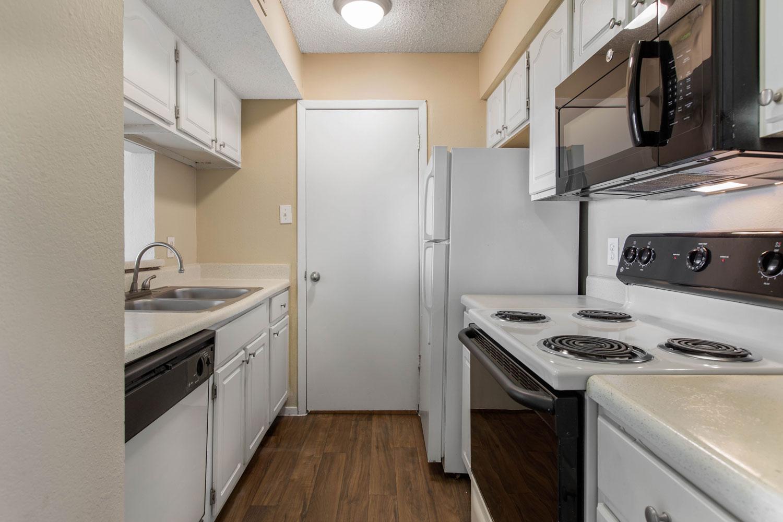 Spacious Kitchen at Sapphire Apartments in San Antonio, Texas