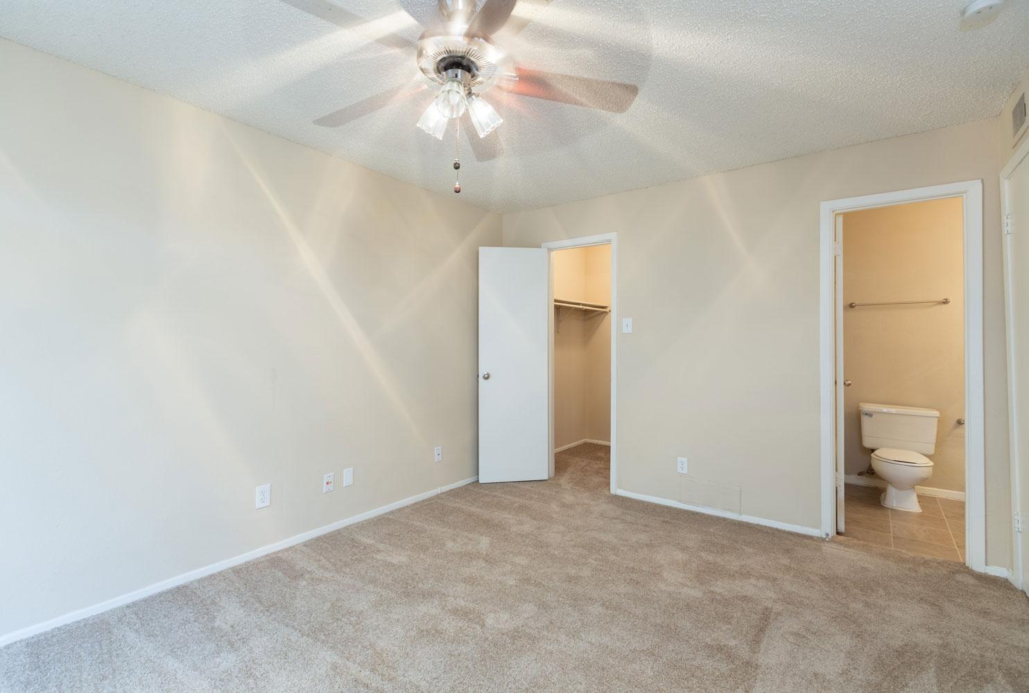 Multi-Speed Ceiling Fans at Sapphire Apartments in San Antonio, Texas