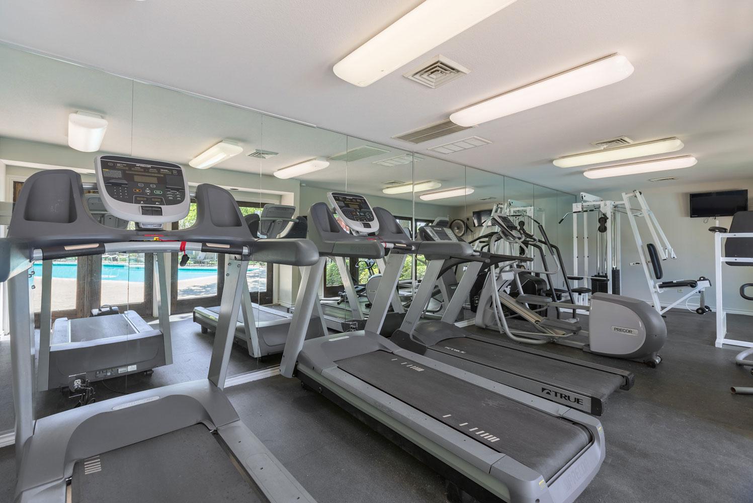 Cardio Machines at Sapphire Apartments in San Antonio, Texas