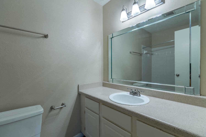 Bathroom Vanity at Sapphire Apartments in San Antonio, Texas
