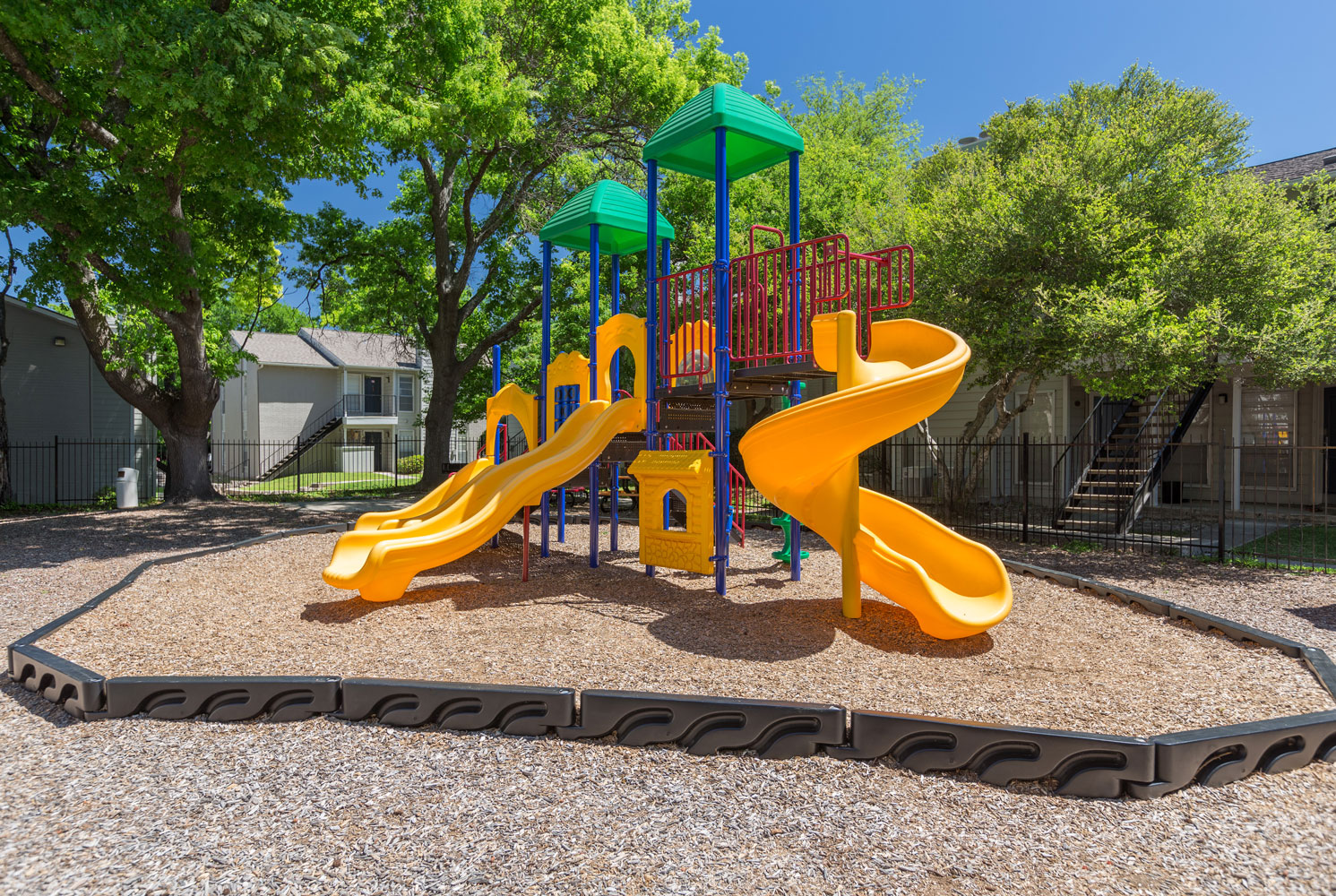 Playground at Sapphire Apartments in San Antonio, Texas