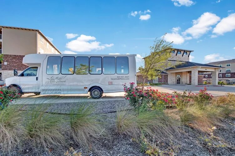 Greenbelt Community Transportation at The Savannah at Gateway Apartments in Plano, Texas