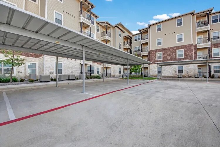 Covered Parking at The Savannah at Gateway Apartments in Plano, Texas
