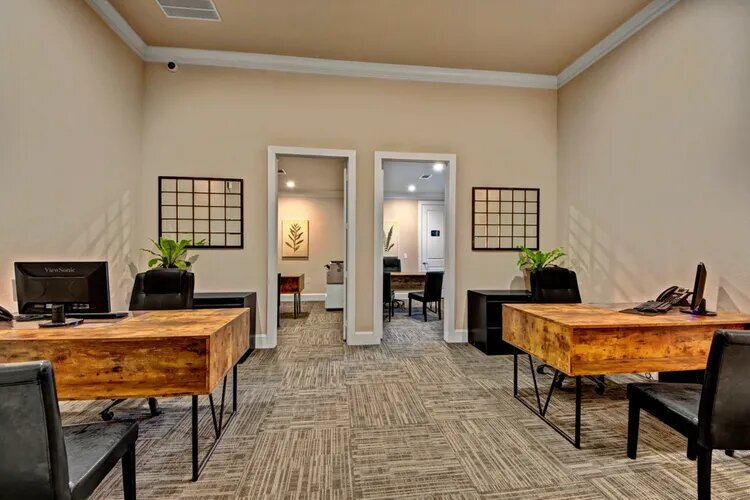 Controlled Access Community at The Savannah at Gateway Apartments in Plano, Texas
